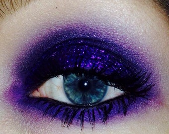 Cyber Monday Sale - Comparsa - MATTE VIOLET - El Dia de Los Muertos - Day of The Dead Collection - Mineral Eye Candy Shadow