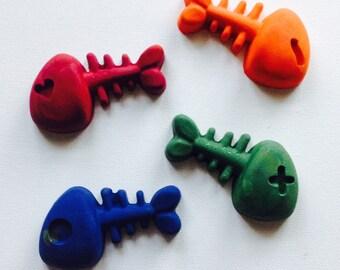Bonefish crayon set of four