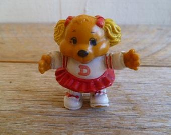 Get Along Gang Dotty Dog PVC Cake Topper 1984