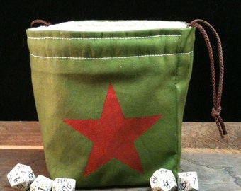 WW2 Historical Soviet Red Army Inspired Dice Bag
