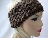 Knit Ear Warmer Pattern, Knit Headband pattern, Knit Plainted Ear Warmer pattern for adults and teens