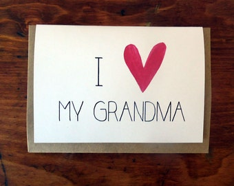 Mother's Day Card - For Grandma
