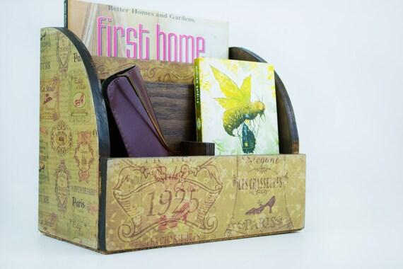Amazon.com: Juvale 3 Tier Wooden Mail Desktop Organizer ...  Desktop Mail Organizer For Kitchen