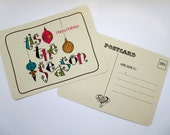 Holiday Postcards - Tis the Season! - set of 8