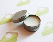 Key Lime Pie Scented Lip Balm - Natural Shea Butter Lip Balm - Cocoa Butter - Beeswax - Lip Balm Tin - Lip Balm Favors - Matte Lipstick