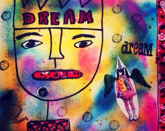 Mixed Media, Outsider Art:  Dreams