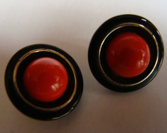 Jean Patou Vintage Earrings