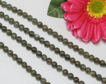 Natural Labradorite 8mm round Loose Beads