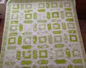 Seville Limes Large Quilt