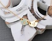 Heart Charm Bracelet, 14k Gold Fill Heart Jewely, Mother Best Friend Gift, Graduation Initial Bracelet, Christmas gift, Best Friend