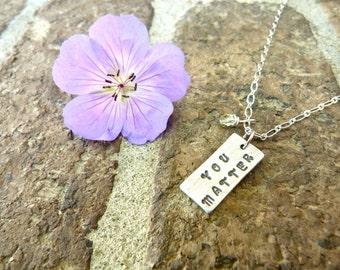You Matter, Love, Support, Necklace