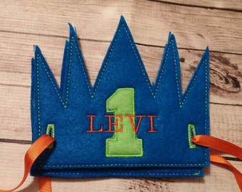 Personalized Felt Crown