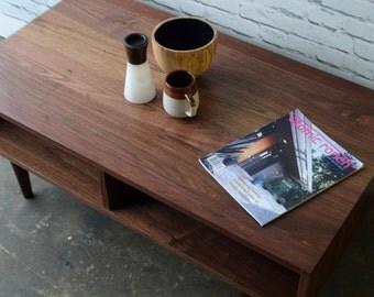 Oxelaand Solid Walnut Coffee Table
