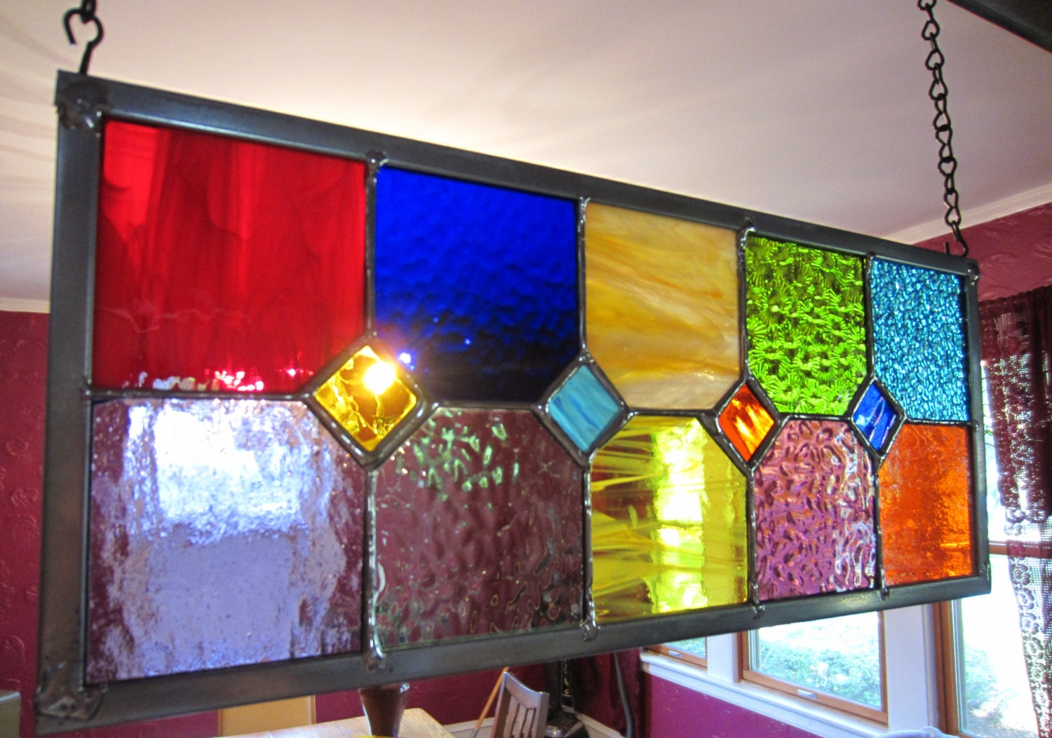 Home DECOR Stained Glass AVAILABLE NOW Gift For The Holidays