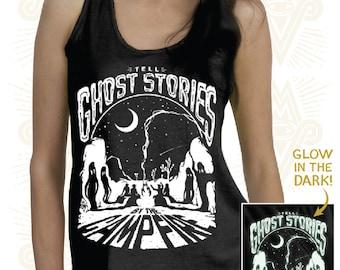 Ghost Stories - Glow In The Dark (Ladies) Tank