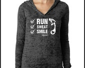 XXLARGE GREY run sweat smile hoodie