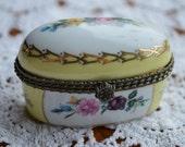 Imperial Porcelain Trinket Box-Ring Box