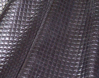 Silver Metalic Quilted Yardage