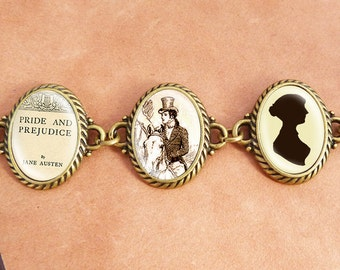 "Jane Austens ""Pride and Prejudice"" - Literature Bracelet"