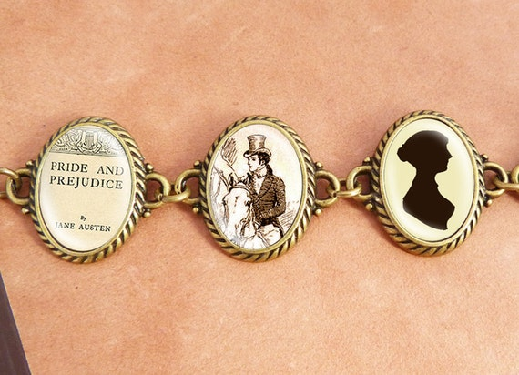 "Jane Austens ""Pride and Prejudice"" - Literature Bracelet"