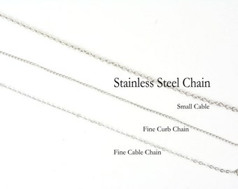 Stainless Steel Add-on Chain and Findings