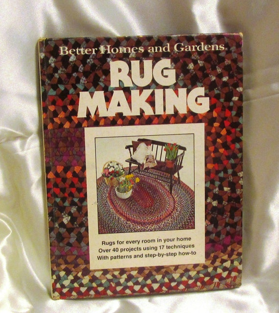 Rug Making Better Homes And Garden How To Book By