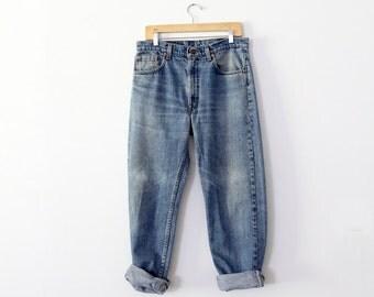 1980s Levis 505 denim jeans, waist 34