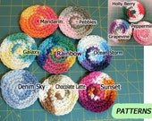 Car Coasters, Package of 4, Custom Choice of Colors - MADE TO ORDER