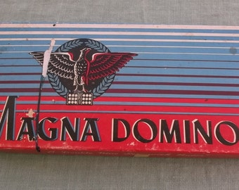 Vintage Dominoes Magna Double Nine