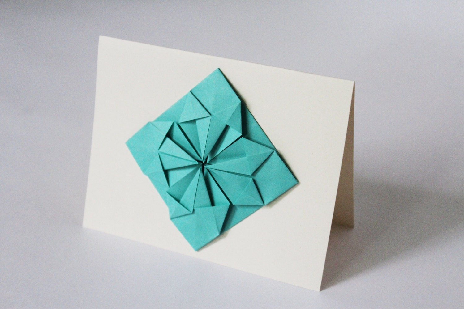 Origami cards set of 4 blank greeting cards thank you cards origami cards set of 4 blank greeting cards thank you cards christmas cards kristyandbryce Images