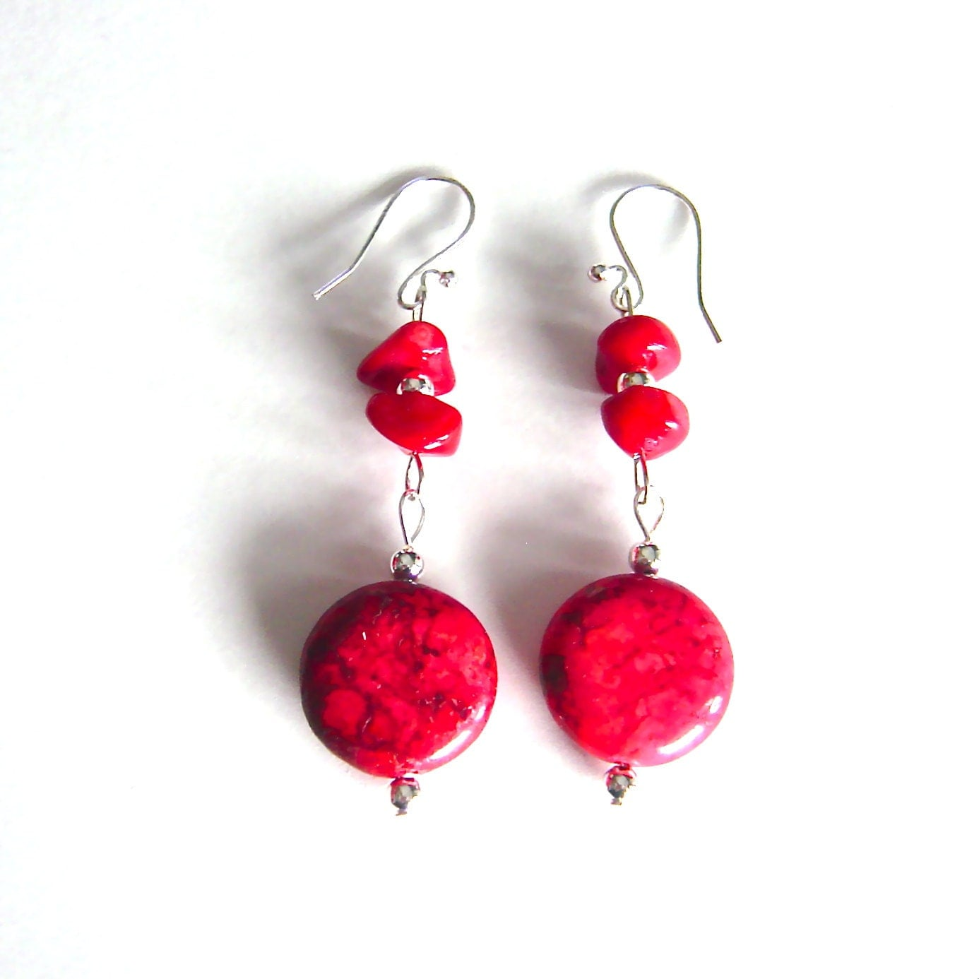 Etsy Natural Stone Earrings
