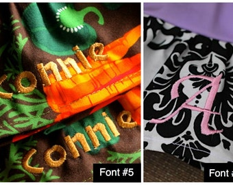 Name or Monogram Embroidery Add-On