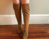 Reserved for loglodge: Brown Suede Boots
