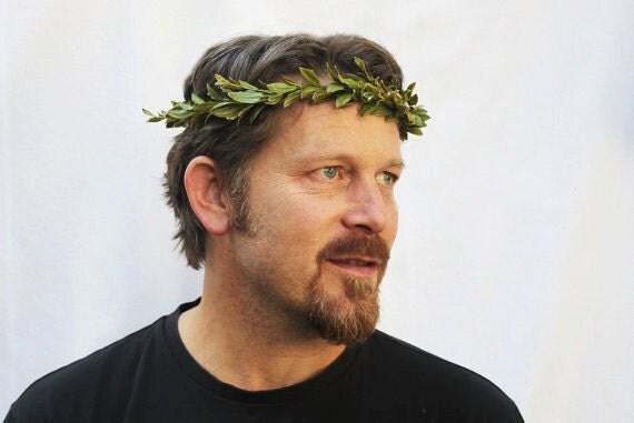 Head Wreath Greek Head Wreath Greek God