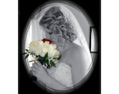 Bridal Bouquet / Boutonniere Locket Custom Photo Wedding Keepsake, Over 30 Satisfied  Brides,5 Star Reviews, FREE Gift/ Free SHIP USA