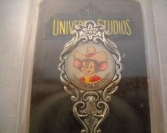 Collectible Souvenir Spoon Universal Studios Florida/Silver Plated Souvenir Spoon