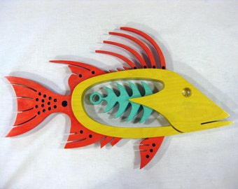 Hogfish in Red