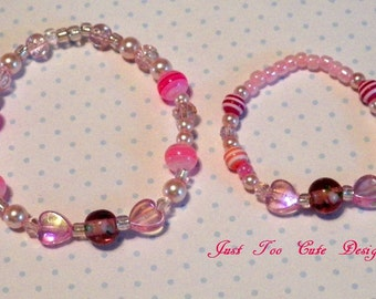 Mommy Daughter Matching Bracelet Set