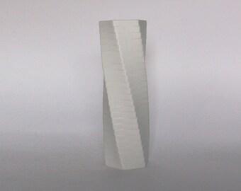 Vintage XL Architectural Porcelain Bisque Vase  - Werner Uhl for Rosenthal 1985