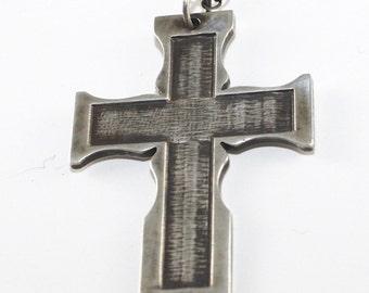 Stoic Silver Cross