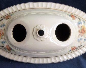 Antique Oval Ceramic Ceiling Lamp Base