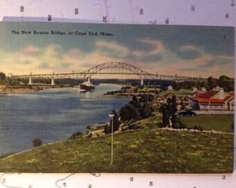 The New Bourne Bridge at Cape Cod Mass.