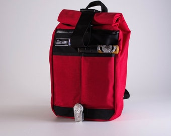 Small Roll Top Back Pack