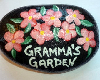 Gramma's Garden garden rock