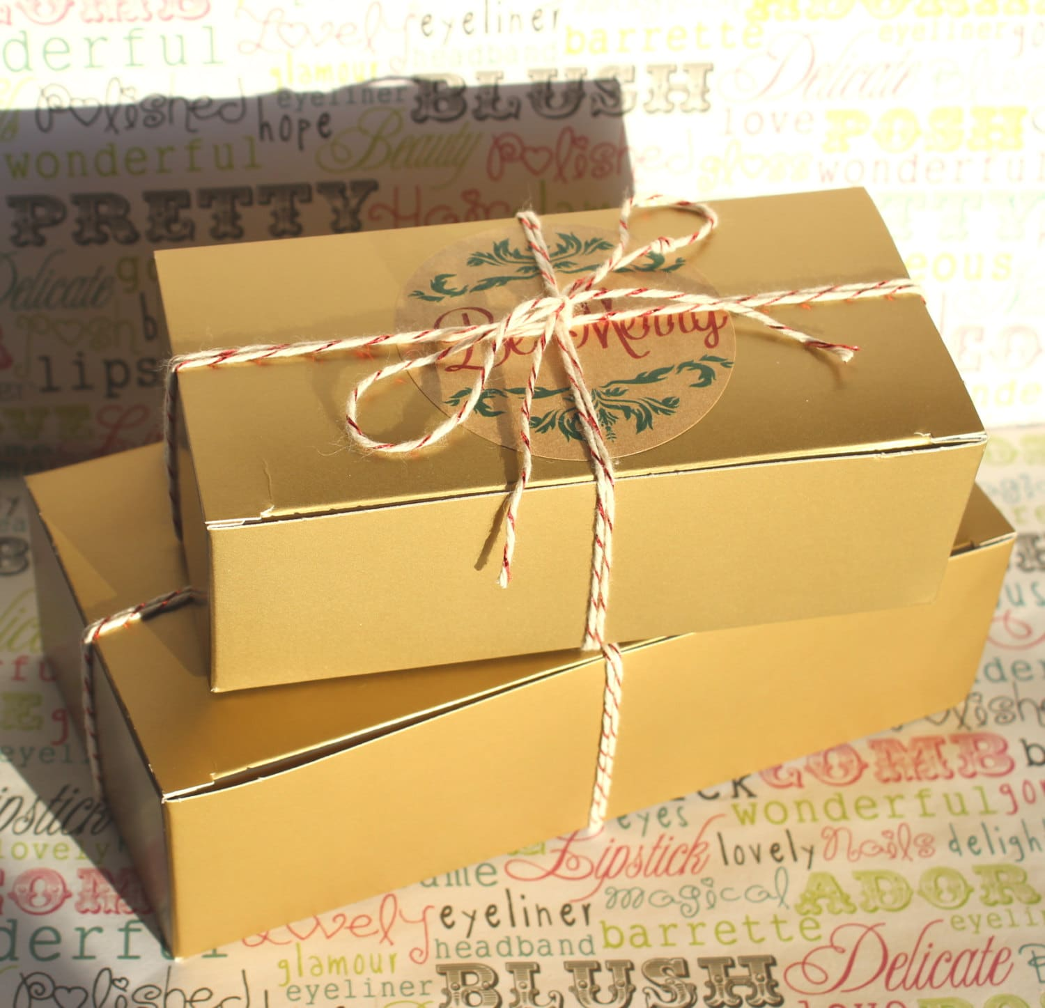 Wedding Favor Boxes For Cookies : 24 Holiday Cookie Boxes Candy Boxes Wedding Favor Boxes
