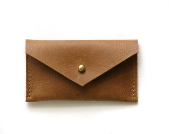 The Leather Card Case  //  wallet bag