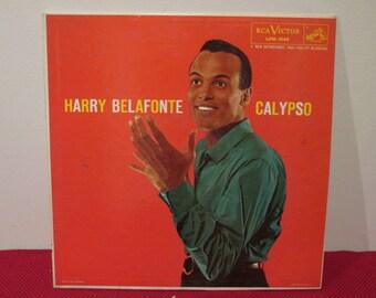 Harry Belafonte Calypso hmv RCA Victor  Collectible Vinyl Record VG to EX Condition