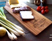Personalized EngraveCutting Board- Cheese Board, Charcuterie Board, Bread Board