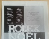 Art Deco Vintage French Ad Rolex Watches 1931