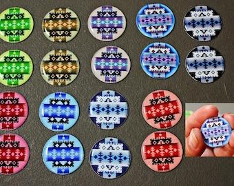"""1"""" Epoxy Stickers Native Cab Set Bottle Cap Beading"""